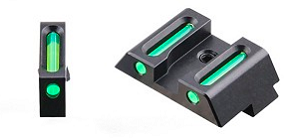 Fiber Optic Glock Sights- Green